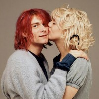 Kurt Cobain y Courtney Love