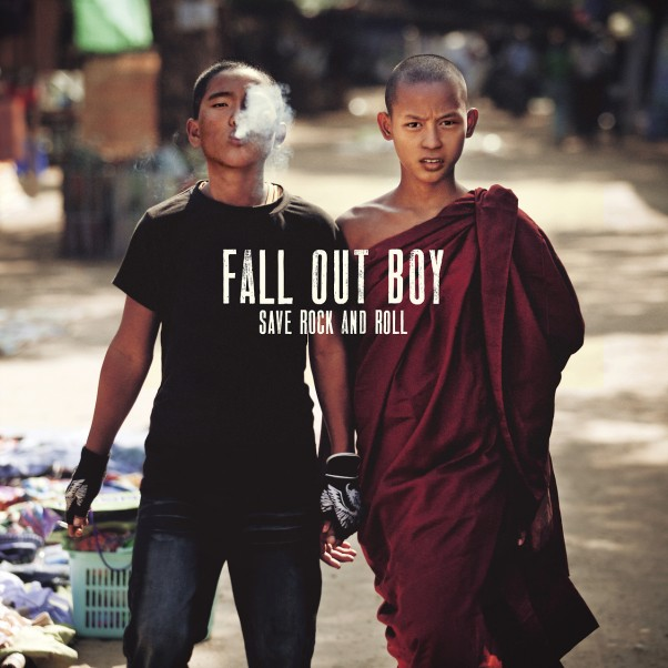 Fall Out Boy descubren la portada de su nuevo disco, titulado Save Rock And Roll