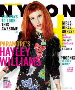 Hayley Williams - Nylon Mag