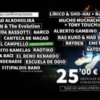 Cartel Viña Rock 2014