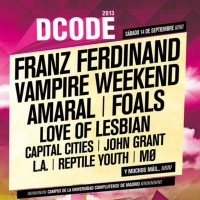 Sigue en directo el Festival DCODE 2013 en Rock You Babe